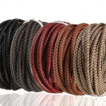 Braided Faux Leather