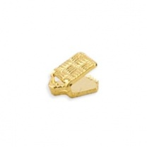 Cord End 5mm Gold Plated