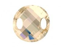 SWAROVSKI 3221 28mm Twist Golden Shadow