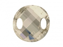 SWAROVSKI 3221 28mm Twist Silver Shade