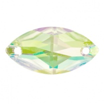 SWAROVSKI 3223 12 x 6mm Navette Crystal Luminous Green