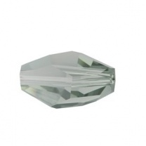SWAROVSKI 5203 12x8mm Polygon Perle Black Diamond