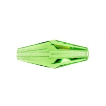SWAROVSKI 5205 15x6mm Elongated Bead Peridot