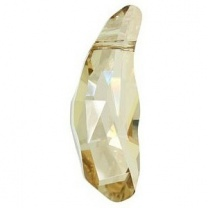 SWAROVSKI 5531 36mm Bead Aquiline Golden Shadow