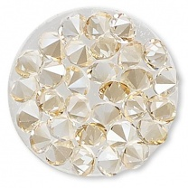 SWAROVSKI® 72013 Crystal Rocks 15mm Golden Shadow