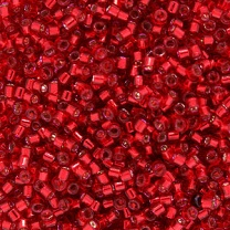 Seed Bead 2.6mm Red