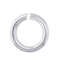 Ring 4 x 0.6mm Sterling Silver