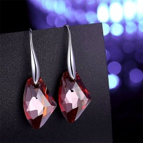 Red Fun Earrings made with SWAROVSKI Crystal
