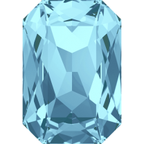 SWAROVSKI 4627 27mm Octagon Aquamarine