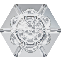 SWAROVSKI 4681 14mm Vision Hexagon Crystal