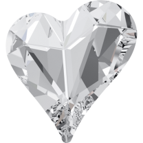 SWAROVSKI 4809 13 x 12mm Sweet Heart Crystal