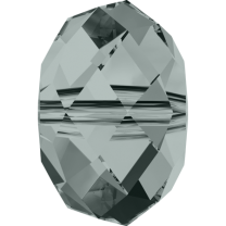 SWAROVSKI 5040 6mm Briolette Bead Black Diamond
