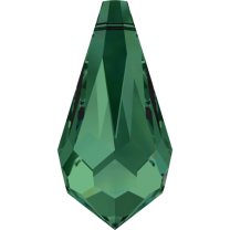 SWAROVSKI 6000 11x5.5mm Drop Pendant Emerald