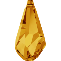 SWAROVSKI 6015 13mm Drop Pendant Topaz