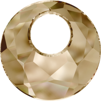 SWAROVSKI 6041 18mm Victory Pendant Golden Shadow