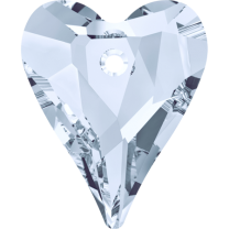 SWAROVSKI 6240 12mm Wild Heart Pendant de Crystal Blue Shade