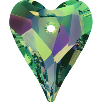 SWAROVSKI 6240 17mm Wild Heart Pendant Crystal Vitrail Medium