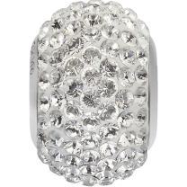 SWAROVSKI 180101 14mm BeCharmed Pavé Perle Crystal