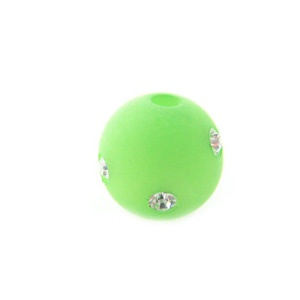 Polaris 10mm Peridot mit Swarovski Crystal