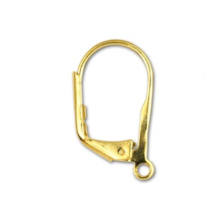 Earring 16mm with Ring Gold Plated