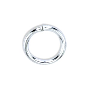 Ring 4mm Small Silver Plated
