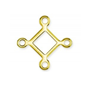 Connector 15 x 15mm Gold Plated