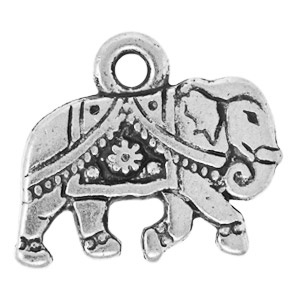 Tierracast Pendant 12mm Gita Antique Silver