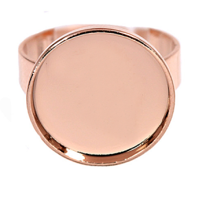 Ring 25mm Rose Gold Swarovski Rocks 72013