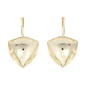 Earring Gold Plated 12mm for Swarovski Trilliant 4706