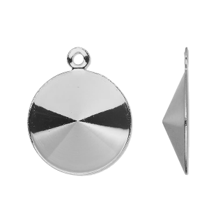 Stainless Steel 12mm Round Bezel Component Mounting
