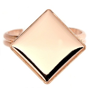 Ring 12mm Rose Gold Swarovski 2493