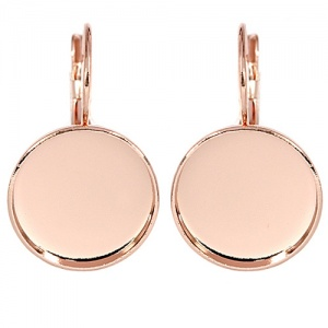 Klappbrisur 15mm Rose Gold Swarovski Rocks