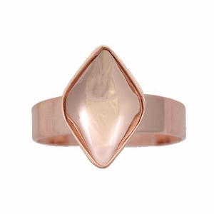 Ring 14mm Rose Gold Swarovski Lemon 4230