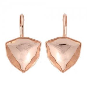 Ohrbrisur 12mm Rose Gold Swarovski Trilliant 4706