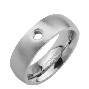 Stainless Steel Interchanable Ring size 60