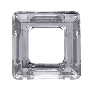 SWAROVSKI 4439 20mm Square Silver Shade