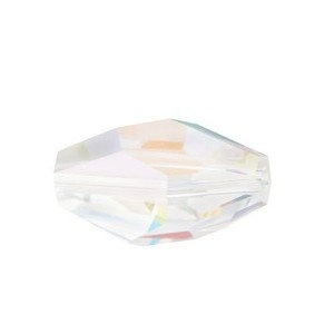 SWAROVSKI 5203 12x8mm Polygon Perle Crystal AB