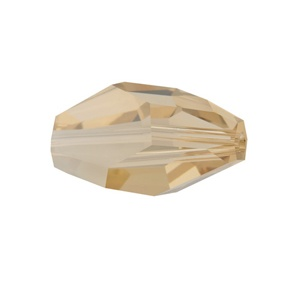 SWAROVSKI 5203 12x8mm Polygon Perle Golden Shadow