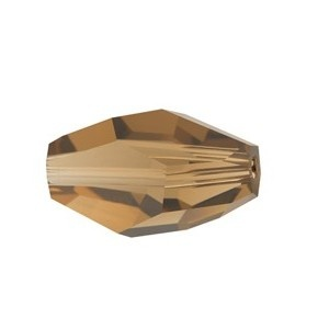 SWAROVSKI 5203 12x8mm Polygon Perle Smoked Topaz