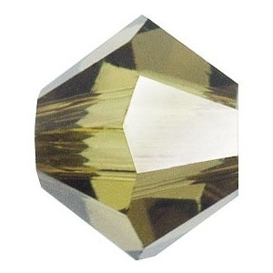 SWAROVSKI 5328 XILION 4mm Perle Light Topaz Satin