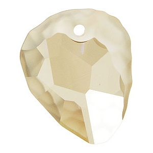 SWAROVSKI 6190 35mm Rock Anhänger Golden Shadow