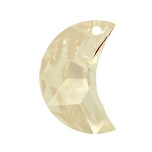 SWAROVSKI 6722 16mm Mond Golden Shadow