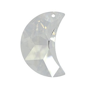 SWAROVSKI 6722 16mm Moon Pendant Silvershade