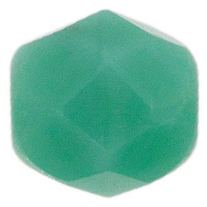 Czech Bead 4mm round Turquoise