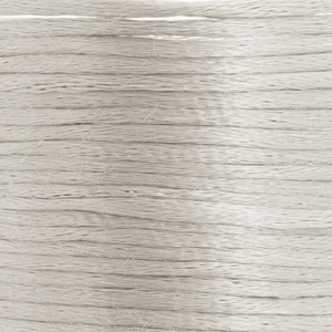 Round Satin cord 3mm white