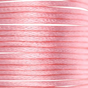 Rundes Satinband 3mm Pink