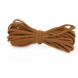 Solid Suede Lace 3.2mm Brown