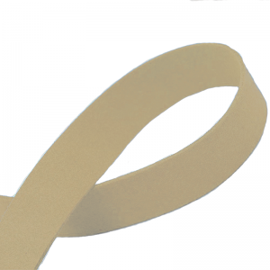 Flat Faux Suede Cord 20mm Ivory