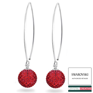 Swarovski® Marquise Pave Earrings 925 Silver making