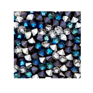 SWAROVSKI® 72003 Crystal Rocks 20mm Bermuda Blue CAL